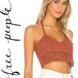 NWT Free People Sydney Crochet Bralette